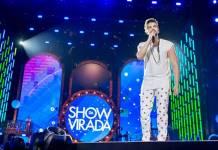 Luan Santana no Show da Virada (Globo/Bruno Soares)