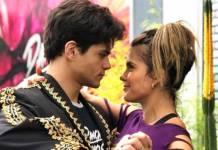 Lucas Veloso e Nathália Melo (Reprodução/Instagram