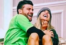 Marcelo Ié Ié e Flávia Viana (Reprodução/Instagram)