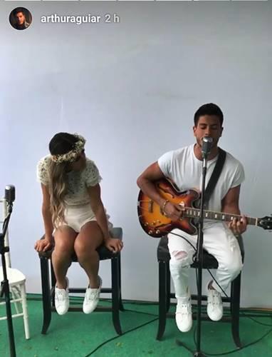 Mayra Cardi e Arthur Aguiar/Instagram
