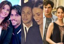 Paula Fernandes e Thiago Arancam - Neymar e Bruna Marquezine - Sergio Guizé e Nathália Dill (Instagram/Globo/João Miguel Júnior)