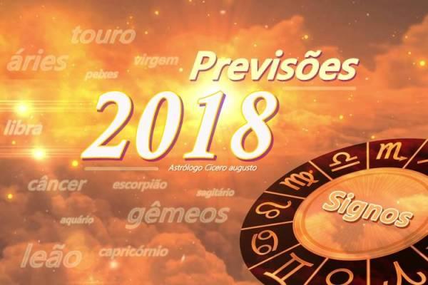 Previsões dos Signos 2018