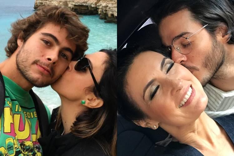 Rafa Vitti e Tatá Werneck - Fátima Bernardes e Túlio Gâdelha/Instagram