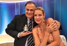 Ronnie Von e Luana Piovani/Divulgação