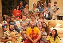 Silvio Santos comemora aniversário em família com Festa do Pijama/Instagram