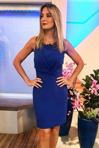 Ticiane Pinheiro - Look Azul/Instagram
