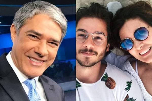 William Bonner, Túlio Gadêlha e Fátima Bernardes (Reprodução/Instagram)
