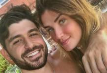 Aline com o namorado/Instagram