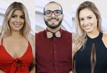 BBB18 - Jaqueline - Mahmoud - Jéssica (Globo/Divulgação)