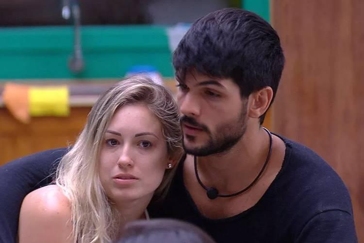 BBB18: Lucas tem conversa séria com Jéssica