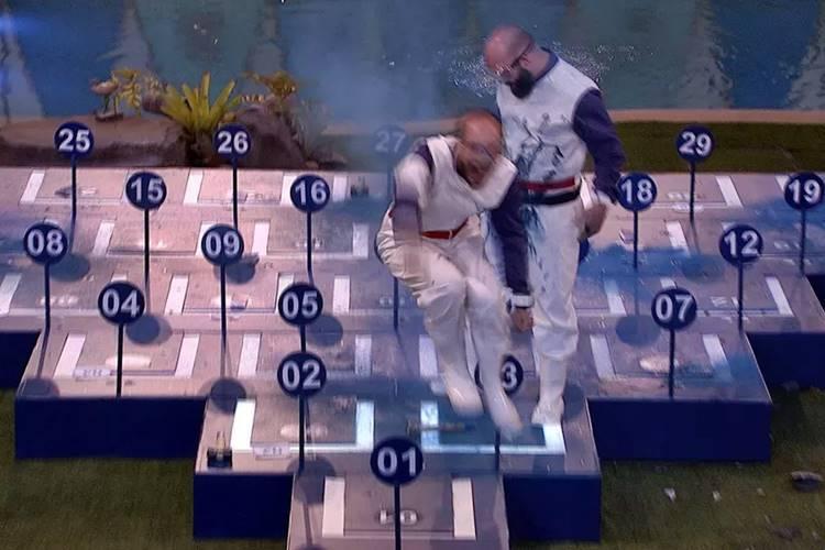 BBB18 - Prova do Líder (Reprodução/TV Globo)