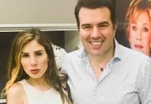 Camilla Uckers com o médico - Danilo/Instagram