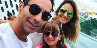 César Tralli - Rafa Justus - Ticiane Pinheiro/Instagram