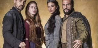 Deus Salve o Rei - Virgilio - Amália - Catarina - Constantino (Globo/João Miguel Júnior)