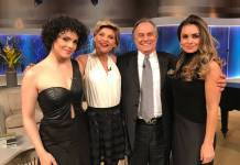Elenco do Musical Hebe com Ronnie Von/Divulgação