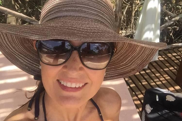 Fátima Bernardes incentiva o namorado: 'Vamos em frente'