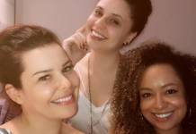 Fernanda Souza - Francis Helena - Aretha Oliveira/Instagram