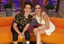 João Guilherme e Luciana Gimenez (Divulgação/RedeTV!)