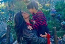 Juliana Paes com o filho/Instagram