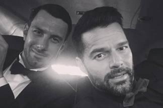 Jwan Yosef e Ricky Martin/Instagram