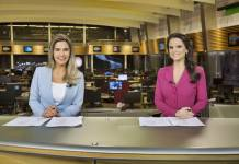 Larissa Alvarenga e Roberta Piza (Antonio Chahestian/ Record TV)