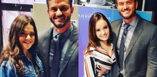 Marcos Harter com Maisa e Larissa Manoela/Instagram