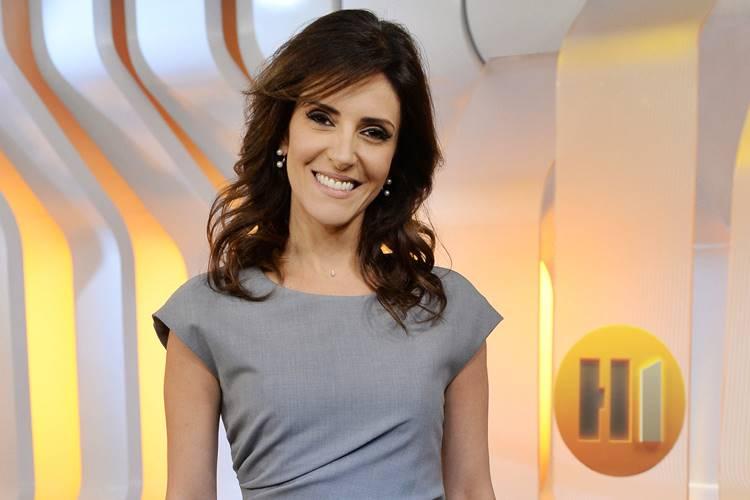 Jornalista Monalisa Perrone está namorando o ex-piloto Luciano Burti