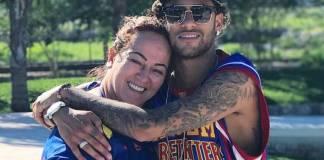 Neymar com a mãe/Instagram