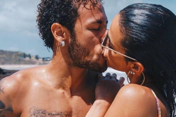 Neymar e Bruna Marquezine/Instagram