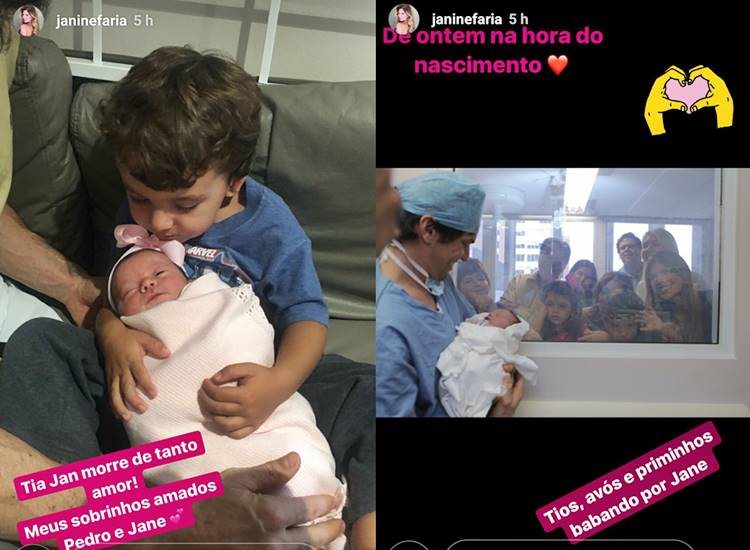 Pedro e Jane - Fabio Faria/Instagram
