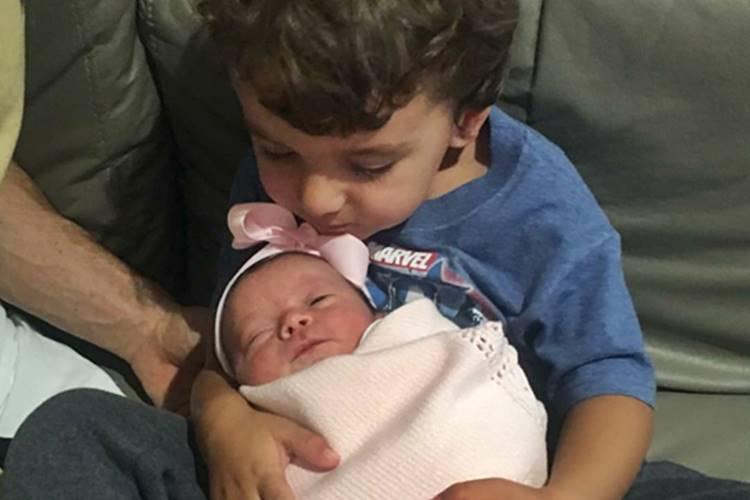 Pedro e Jane - Filhos de Patricia Abravanel/Instagram