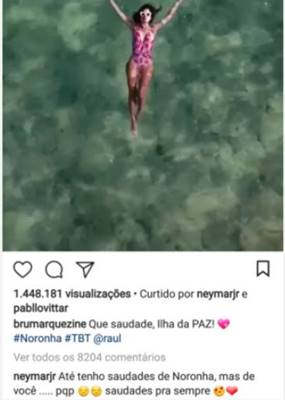 Post - Bruna Marquezine/Instagram