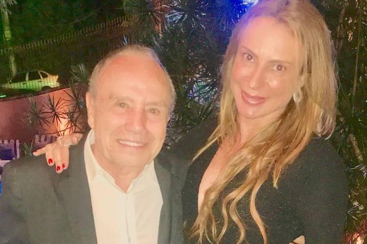 Stênio Garcia e a esposa Marilene Saade-Reprodução/Instagram
