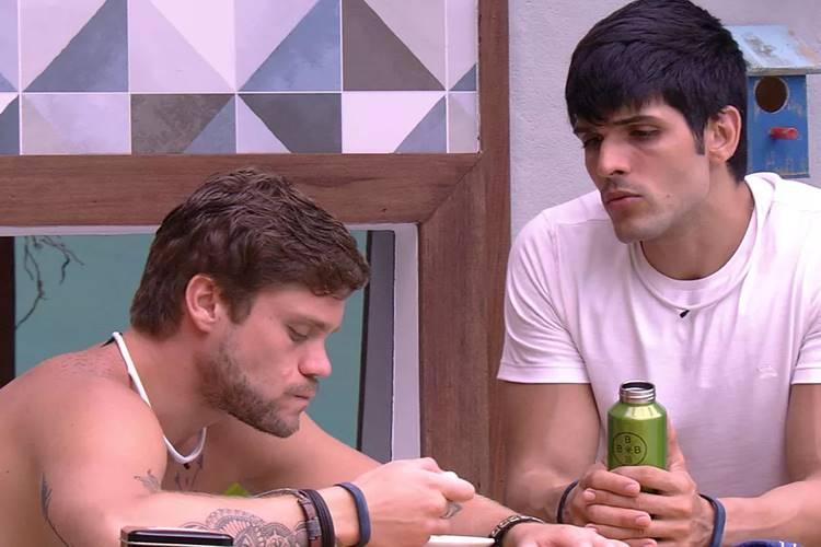 BBB18 - Breno e Lucas (Reprodução/TV Globo)