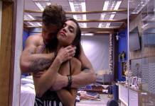 BBB18 - Breno e Paula (Reprodução/TV Globo)