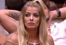 BBB18 - Jaqueline eliminada (Reprodução/TV Globo)