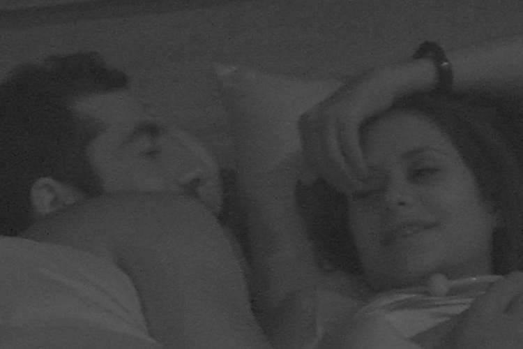 BBB18 - Kaysar e Ana Paula (Reprodução/TV Globo)