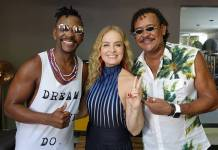 Beto Jamaica, Angélica e Compadre Washington (Globo/Deborah Montenegro)