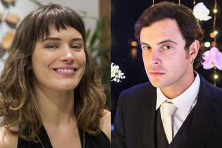 Bianca Bin e Sérgio Guizé (Marília Cabral//Raquel Cunha/Globo)