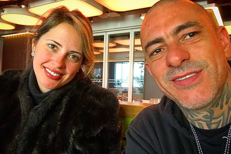 Carine Ludvic e Henrique Fogaça/Instagram