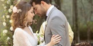 Carinha de Anjo - Cecilia e Gustavo se casam (Lourival Ribeiro/SBT)