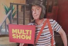 Chaves no Multishow - Reprodução/Twitter