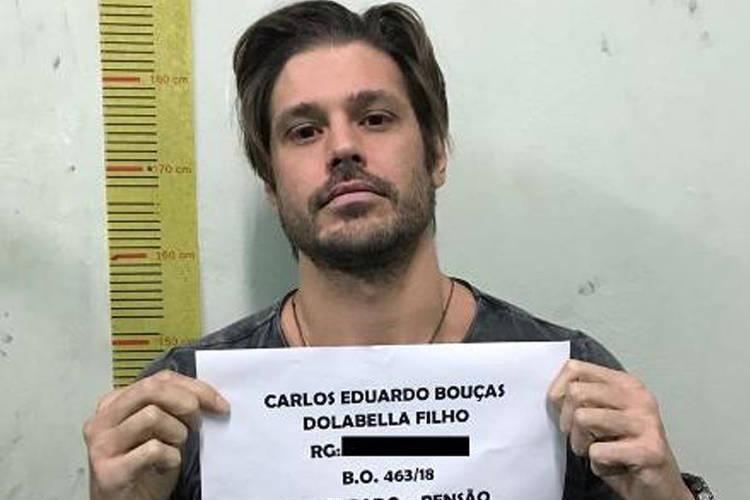Na prisão, Dado Dolabella divide espaço com 40 presos