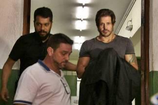 Dado Dolabella preso (Reprodução/TV Globo)