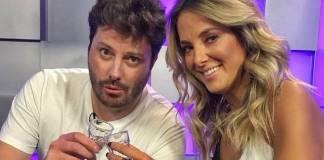 Danilo Gentili e Ticiane Pinheiro/Instagram