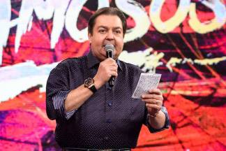 Fausto Silva (Globo/Ramón Vasconcelos)
