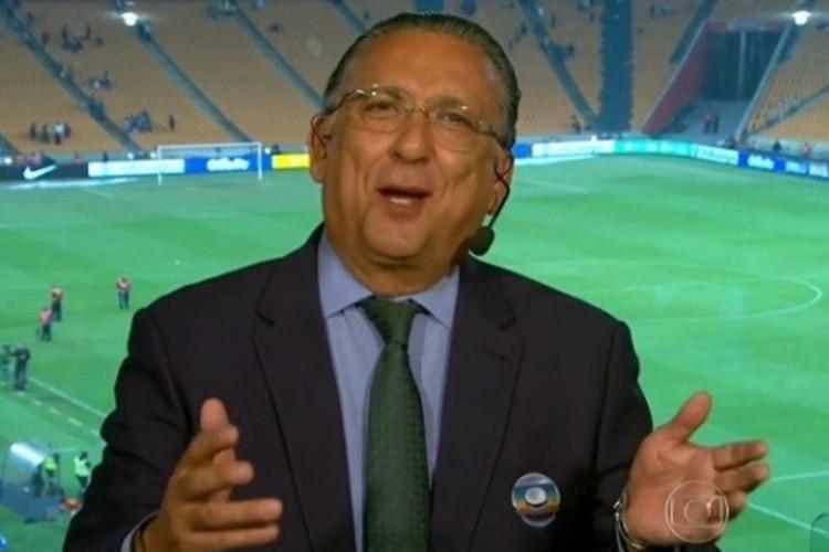 Galvão Bueno - Reprodução/TV Globo