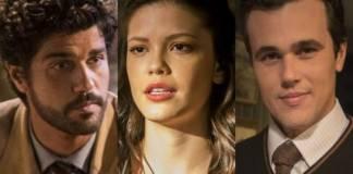 Inácio - Maria Vitória - Vicente - Divulgação/TV Globo