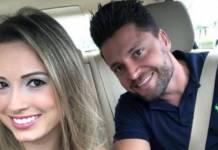 Jéssica com o namorado/Instagram