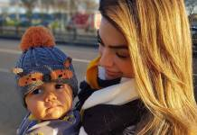 Kelly Key com o filho Artur/Instagram